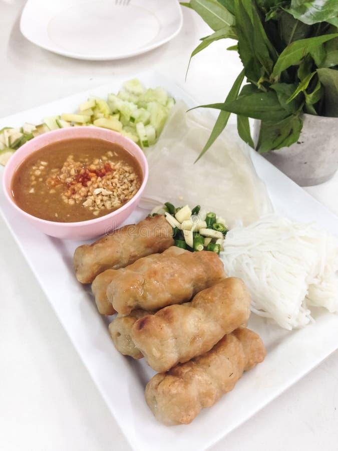 Τρόφιμα του Βιετνάμ στοκ φωτογραφίες