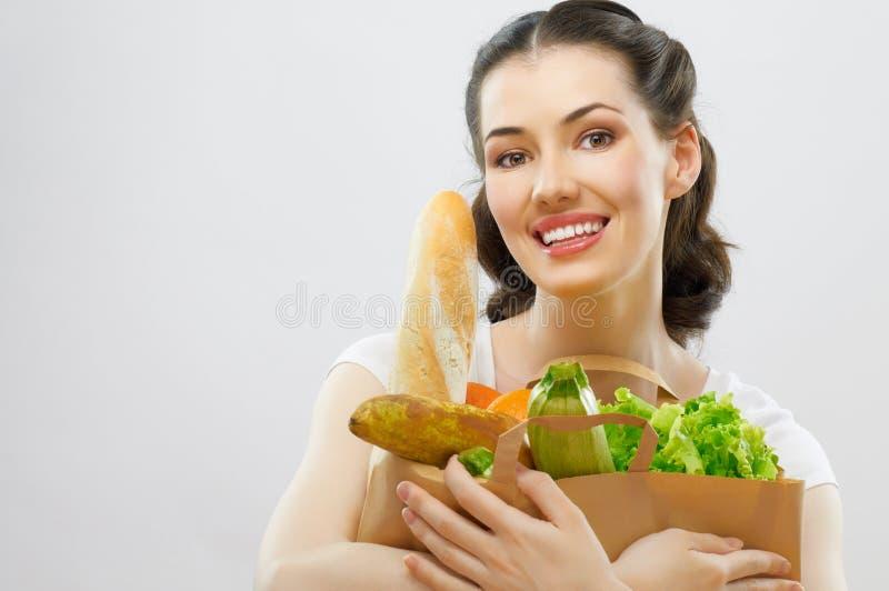 τρόφιμα τσαντών στοκ φωτογραφία με δικαίωμα ελεύθερης χρήσης