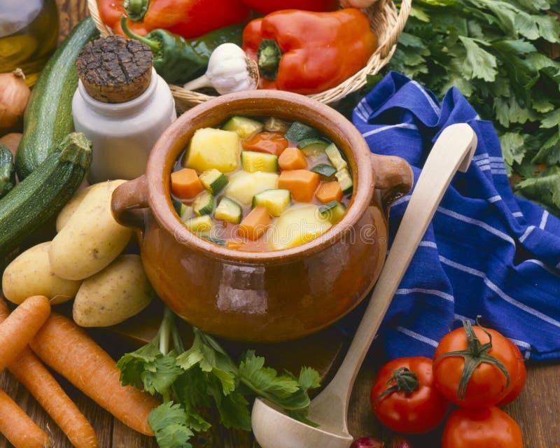 τρόφιμα υγιή μαγειρευμένα λαχανικά στοκ εικόνες