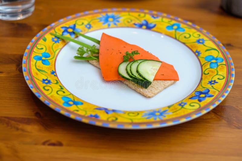 Τρόφιμα Decorational με το παξιμάδι στοκ φωτογραφία
