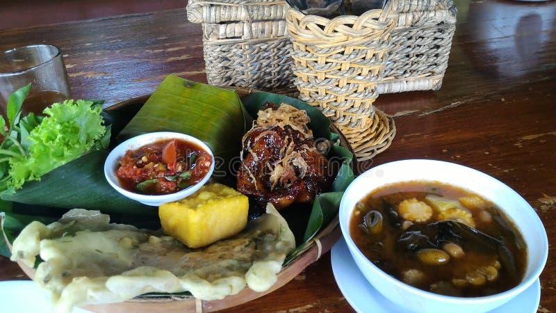 Τρόφιμα Sundanese στοκ φωτογραφίες