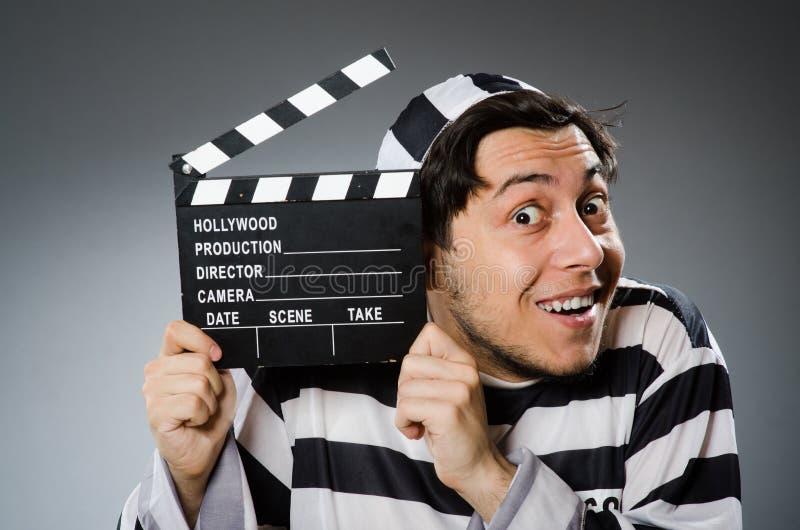 Τρόφιμος με τον κινηματογράφο στοκ φωτογραφίες με δικαίωμα ελεύθερης χρήσης