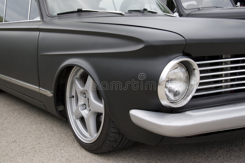 Download τρύγος αυτοκινήτων στοκ εικόνα. εικόνα από μαύρα, κλασικός - 1543741