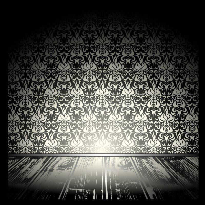 τρύγος δωματίων διανυσματική απεικόνιση