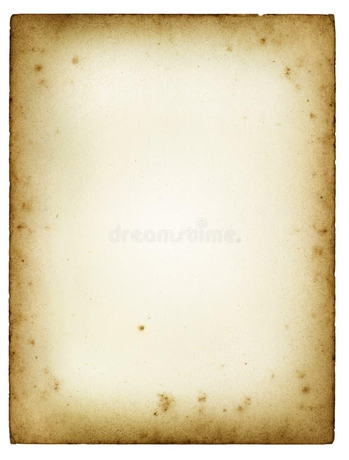 τρύγος εγγράφου στοκ εικόνες με δικαίωμα ελεύθερης χρήσης