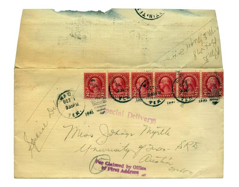 τρύγος επιστολών στοκ εικόνα με δικαίωμα ελεύθερης χρήσης