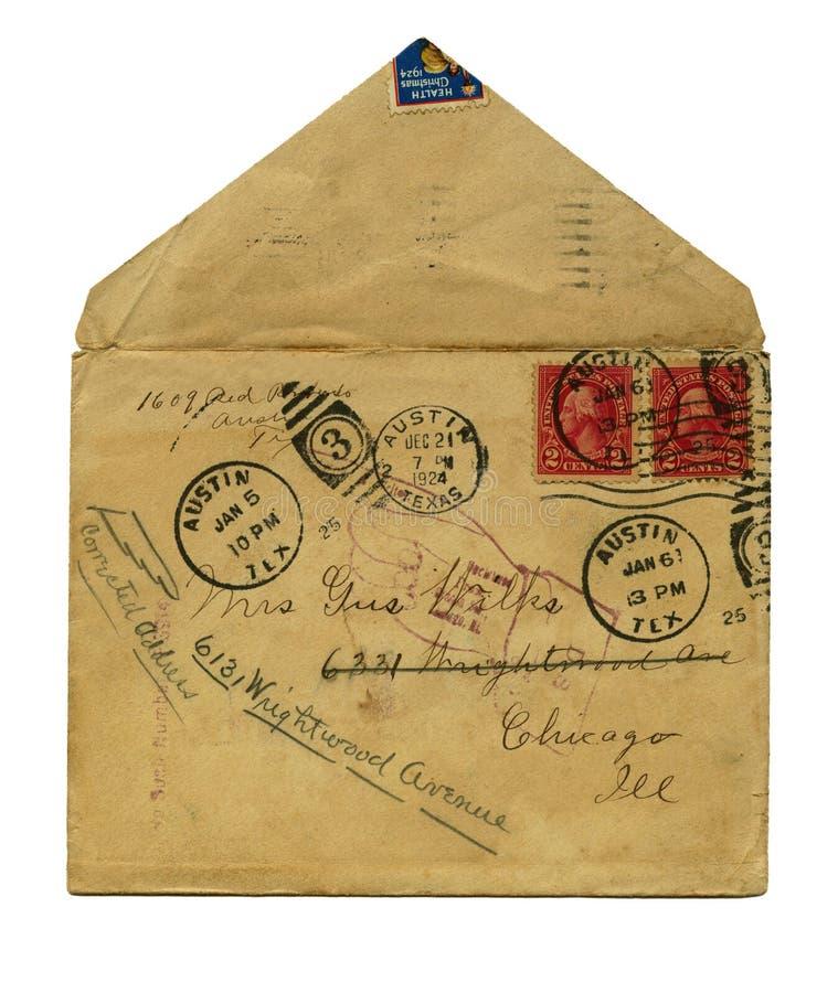 τρύγος επιστολών στοκ φωτογραφία με δικαίωμα ελεύθερης χρήσης