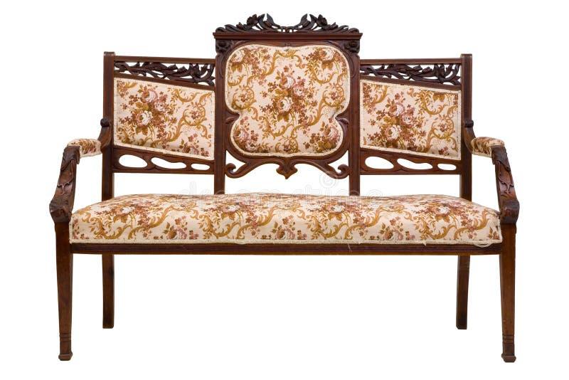 τρύγος καναπέδων πολυτέλειας στοκ εικόνα με δικαίωμα ελεύθερης χρήσης