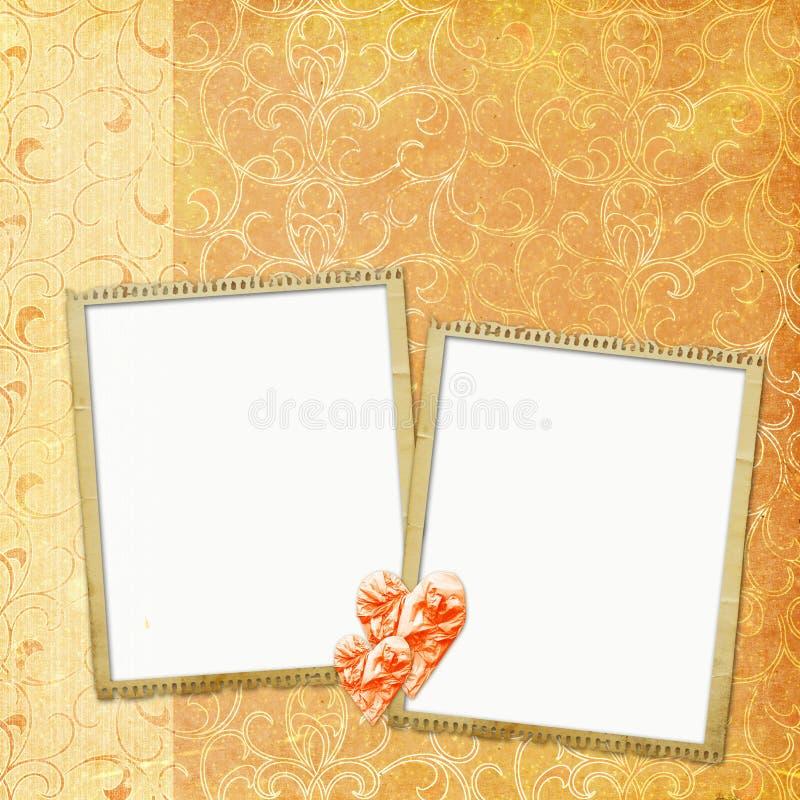 τρύγος καρδιών πλαισίων αν απεικόνιση αποθεμάτων