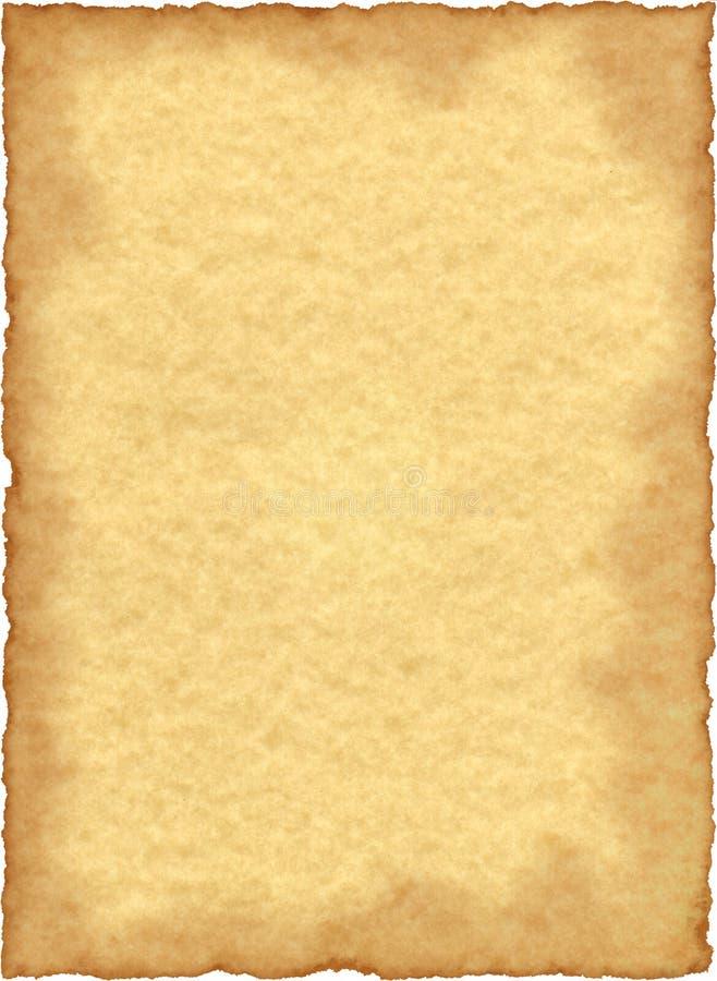 τρύγος περγαμηνής εγγράφ&omic στοκ φωτογραφία με δικαίωμα ελεύθερης χρήσης