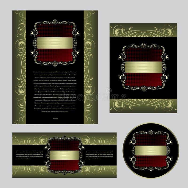 τρύγος προτύπων συλλογή&sigm ελεύθερη απεικόνιση δικαιώματος