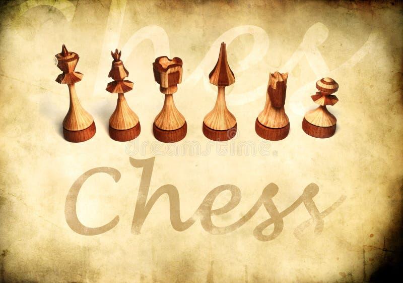 τρύγος σκακιού απεικόνιση αποθεμάτων