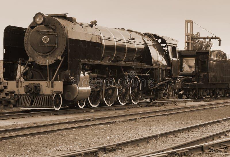 Download τρύγος τραίνων ατμού σεπιών Στοκ Εικόνες - εικόνα από σιδηρόδρομοι, μεταφορά: 2229002