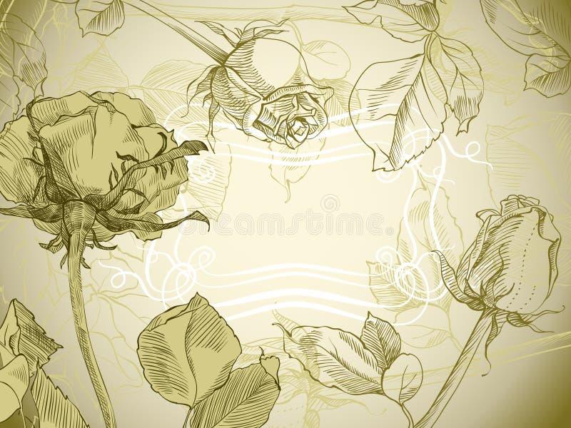 τρύγος τριαντάφυλλων ελεύθερη απεικόνιση δικαιώματος