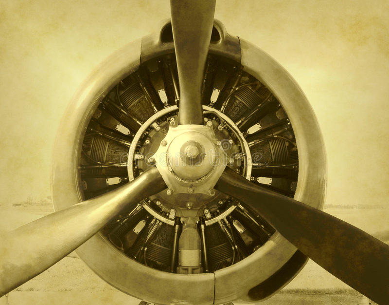 τρύγος φωτογραφιών αερο&p στοκ εικόνες