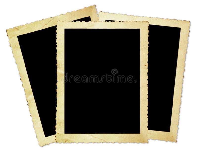 τρύγος φωτογραφιών πλαισίων στοκ εικόνα με δικαίωμα ελεύθερης χρήσης