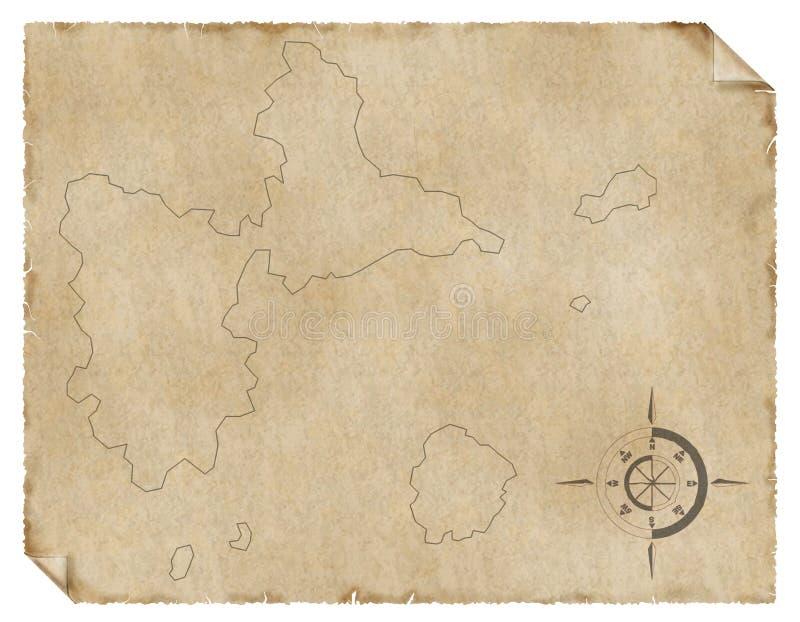 τρύγος χαρτών απεικόνιση αποθεμάτων