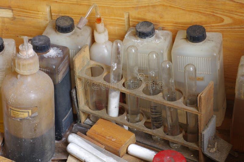 Τρύγος χημικών ουσιών στοκ εικόνες
