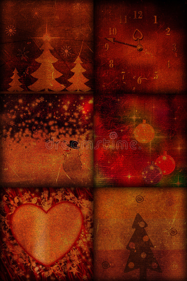 τρύγος Χριστουγέννων ελεύθερη απεικόνιση δικαιώματος