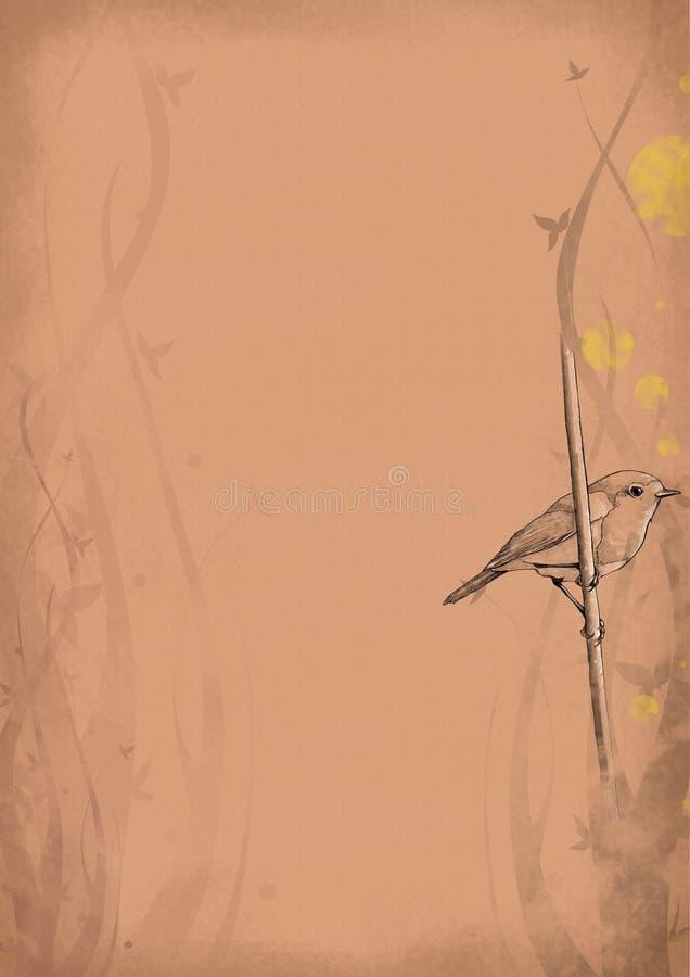 τρύγος 10 ανασκόπησης διανυσματική απεικόνιση