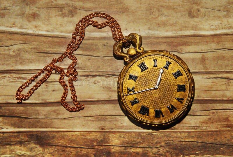 Τρύγος pocketwatch στοκ εικόνα