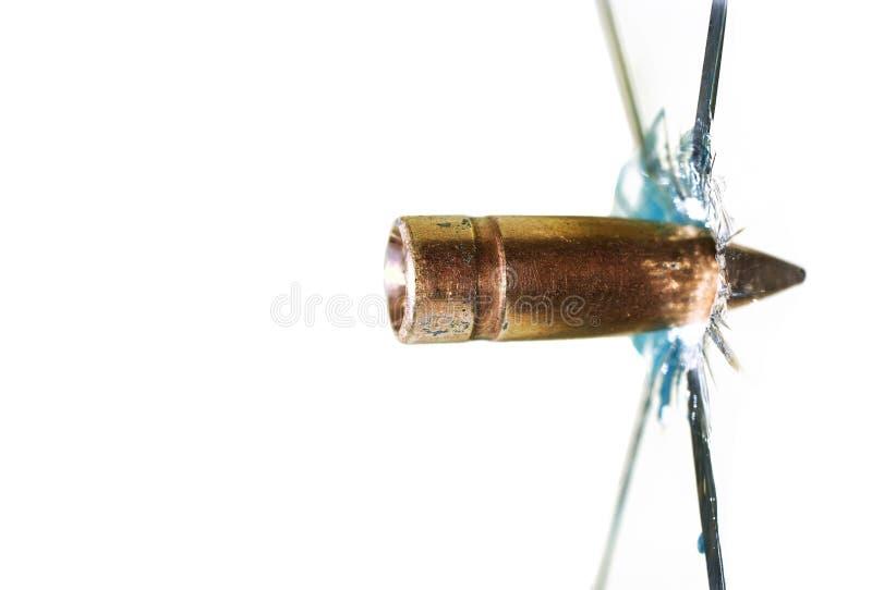 τρύπα από σφαίρα στοκ εικόνα με δικαίωμα ελεύθερης χρήσης