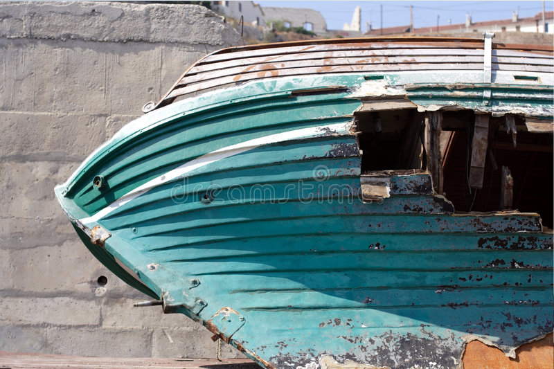 τρύπα βαρκών στοκ φωτογραφία με δικαίωμα ελεύθερης χρήσης