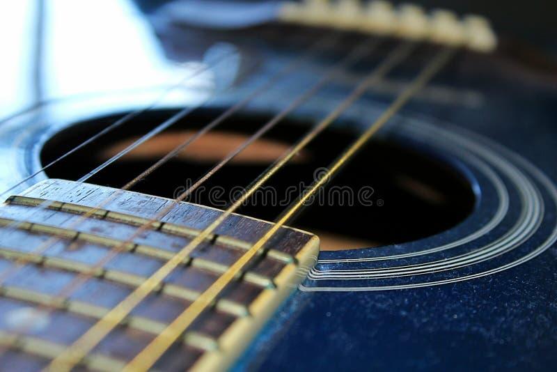 Τρύπα κιθάρων στοκ φωτογραφία με δικαίωμα ελεύθερης χρήσης