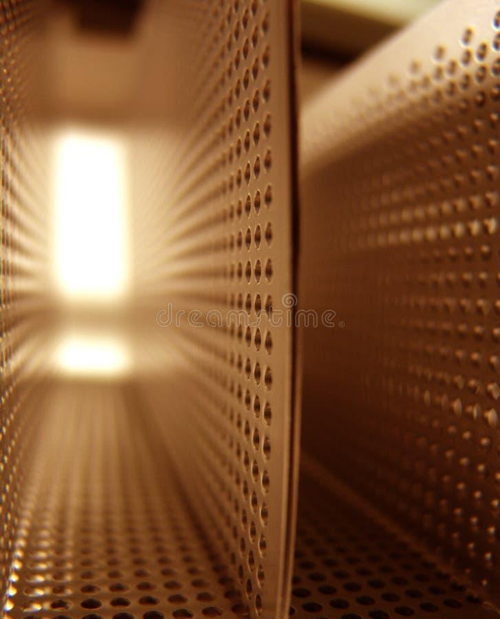 τρύπες διαδρόμων στοκ εικόνες