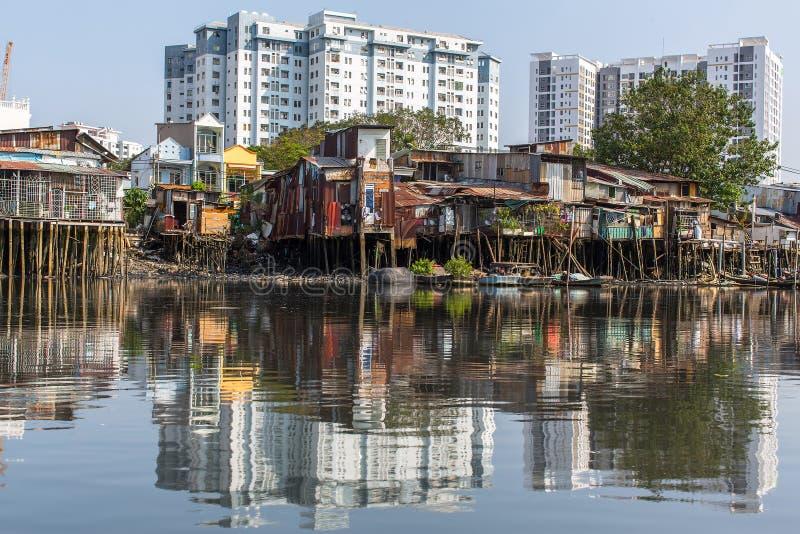 Τρώγλες στην πόλη του Ho Chi Minh στοκ εικόνες με δικαίωμα ελεύθερης χρήσης