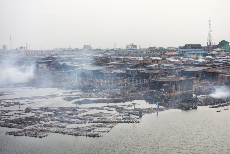 Τρώγλες στο Λάγκος Νιγηρία στοκ φωτογραφία με δικαίωμα ελεύθερης χρήσης