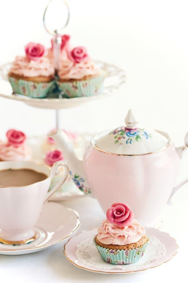 τσάι απογεύματος στοκ φωτογραφίες