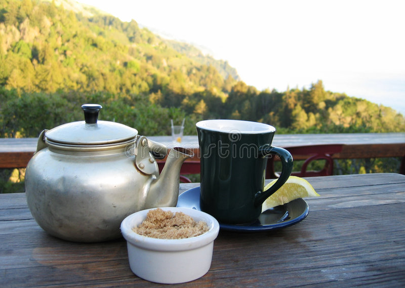 τσάι βουνών στοκ εικόνες με δικαίωμα ελεύθερης χρήσης