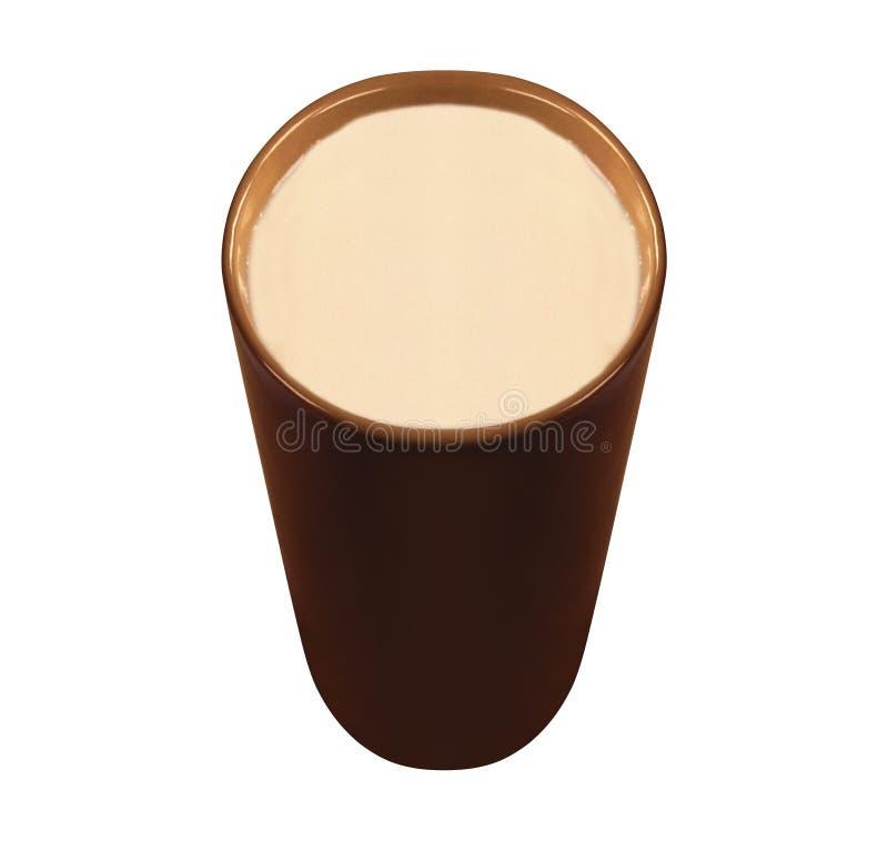 τσάι γάλακτος φλυτζανιών στοκ εικόνα με δικαίωμα ελεύθερης χρήσης