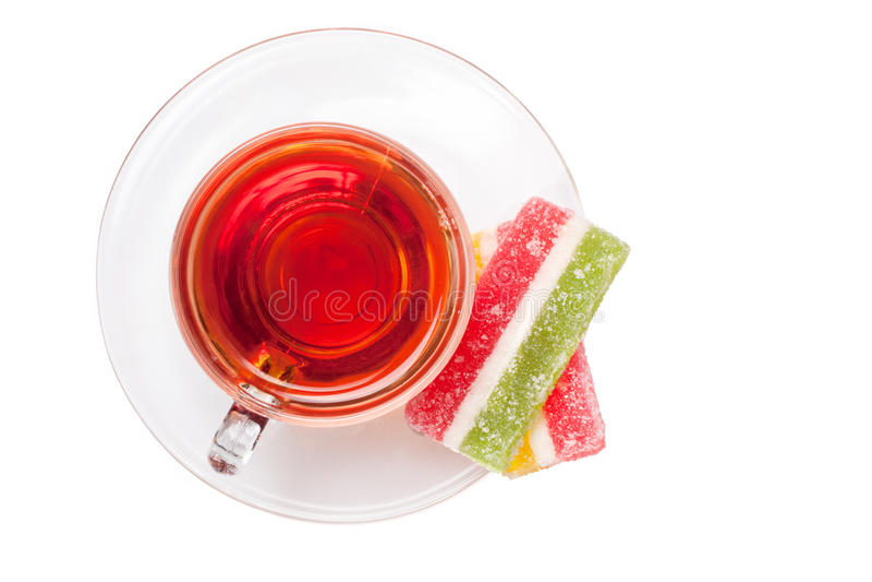 τσάι γλυκών στοκ φωτογραφία με δικαίωμα ελεύθερης χρήσης