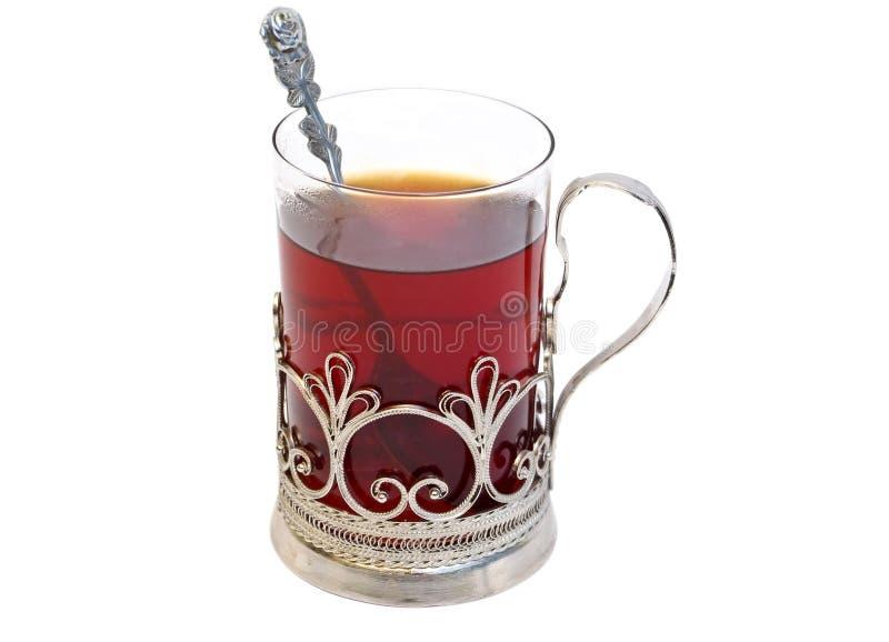 τσάι γυαλιού στοκ εικόνα με δικαίωμα ελεύθερης χρήσης