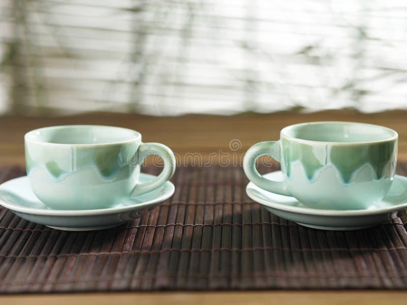 τσάι δύο στοκ φωτογραφία με δικαίωμα ελεύθερης χρήσης