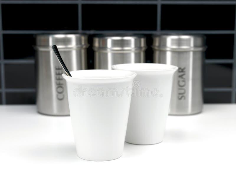 τσάι ζάχαρης καφέ μεταλλι&kap στοκ εικόνα με δικαίωμα ελεύθερης χρήσης
