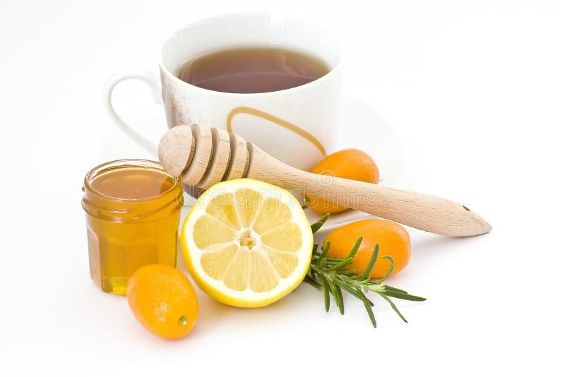 τσάι λεμονιών μελιού στοκ φωτογραφία με δικαίωμα ελεύθερης χρήσης