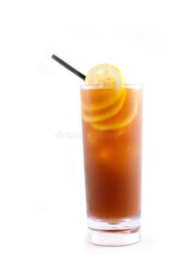τσάι λεμονιών πάγου στοκ εικόνα με δικαίωμα ελεύθερης χρήσης