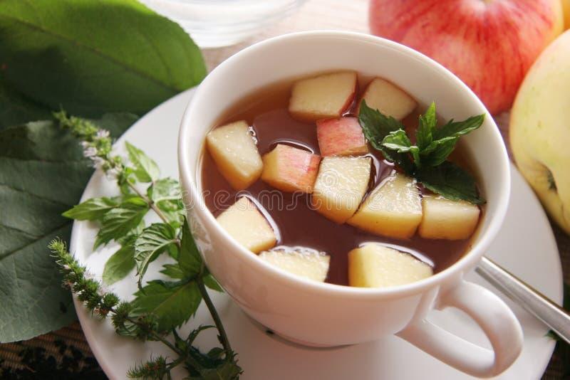 τσάι μήλων στοκ φωτογραφία με δικαίωμα ελεύθερης χρήσης