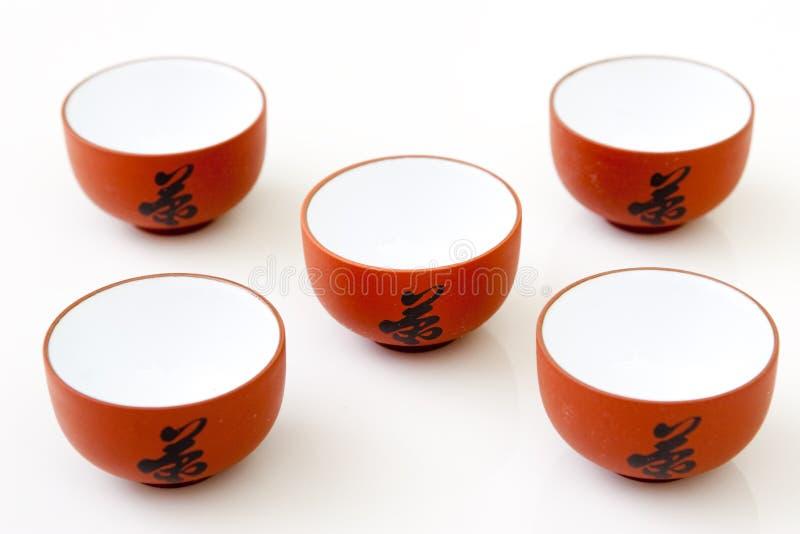 τσάι μελέτης φλυτζανιών στοκ εικόνες με δικαίωμα ελεύθερης χρήσης