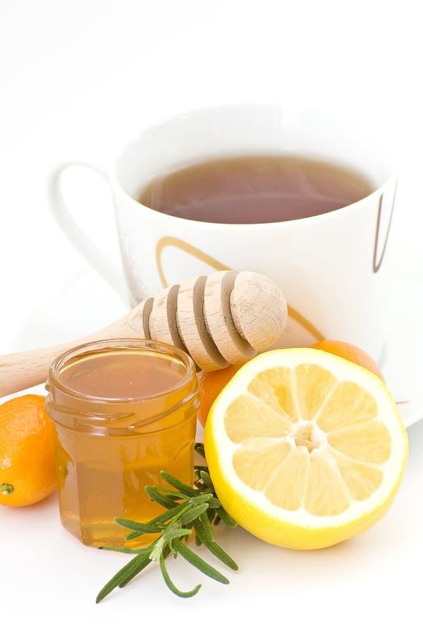 τσάι μελιού στοκ εικόνες με δικαίωμα ελεύθερης χρήσης