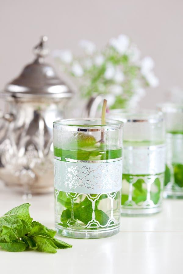 Download τσάι μεντών στοκ εικόνες. εικόνα από φρέσκος, υγιής, ήπιε - 13188342