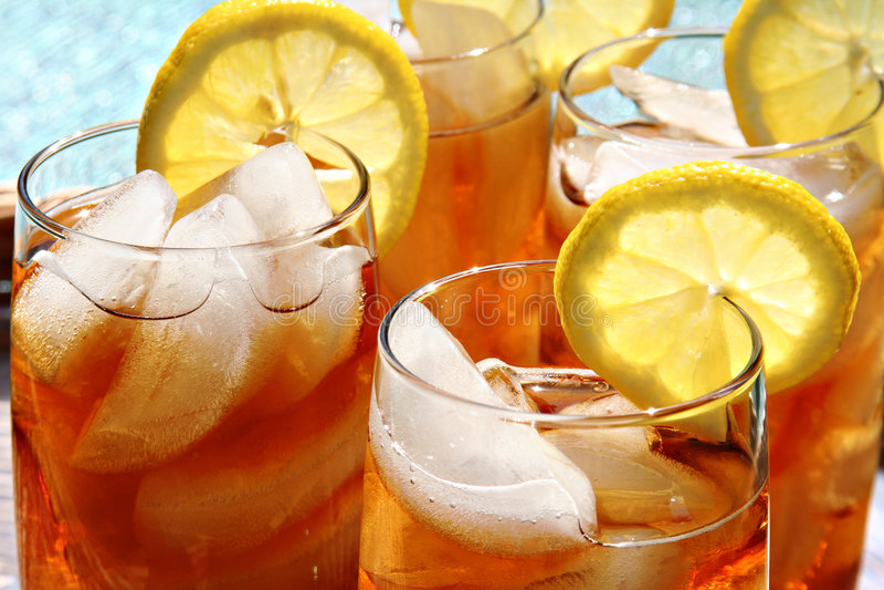 τσάι πάγου στοκ φωτογραφίες