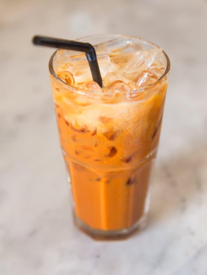 τσάι Ταϊλανδός πάγου στοκ φωτογραφία με δικαίωμα ελεύθερης χρήσης