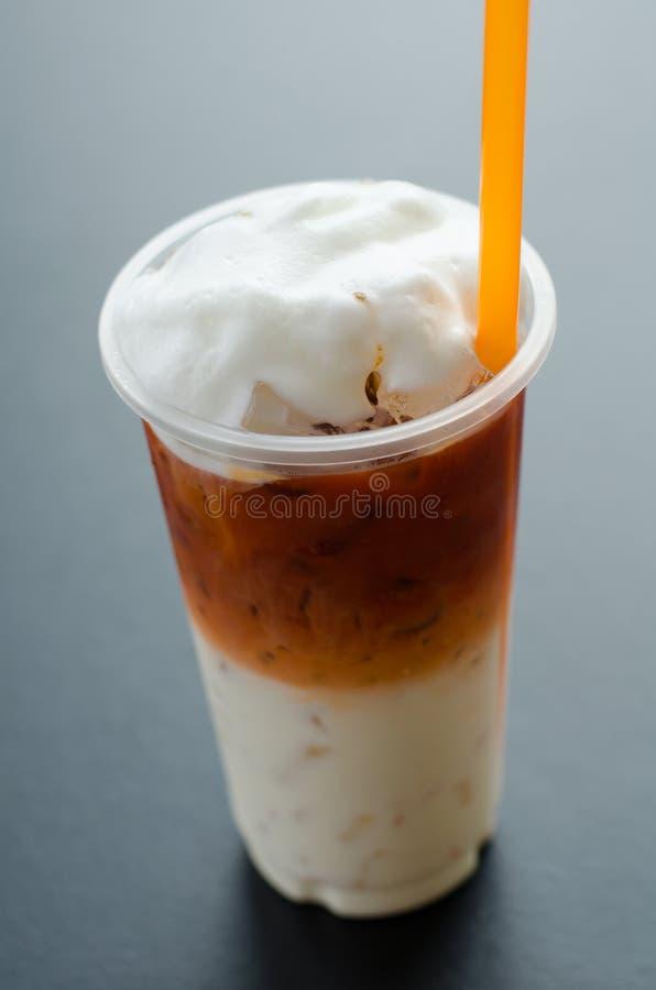 τσάι Ταϊλανδός πάγου στοκ εικόνα με δικαίωμα ελεύθερης χρήσης
