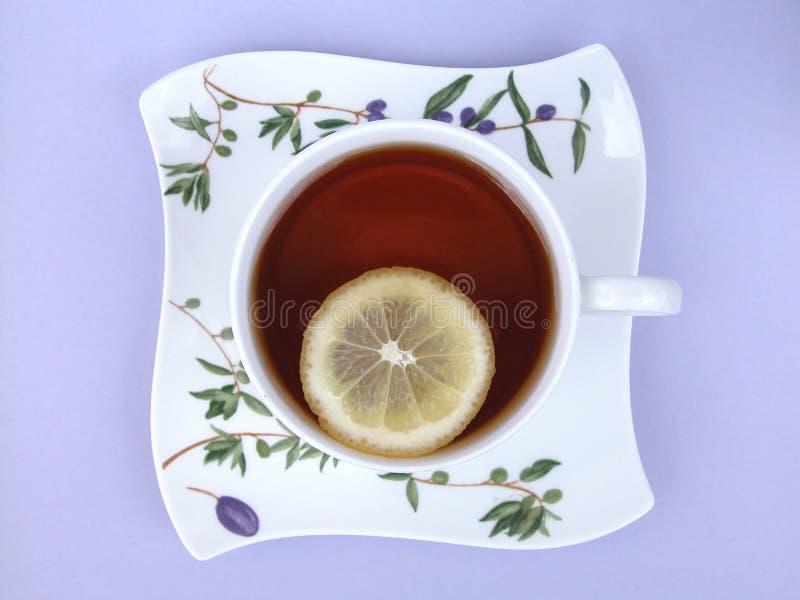 Download τσάι φλυτζανιών στοκ εικόνα. εικόνα από λεμόνι, ποτό, ύδωρ - 122139