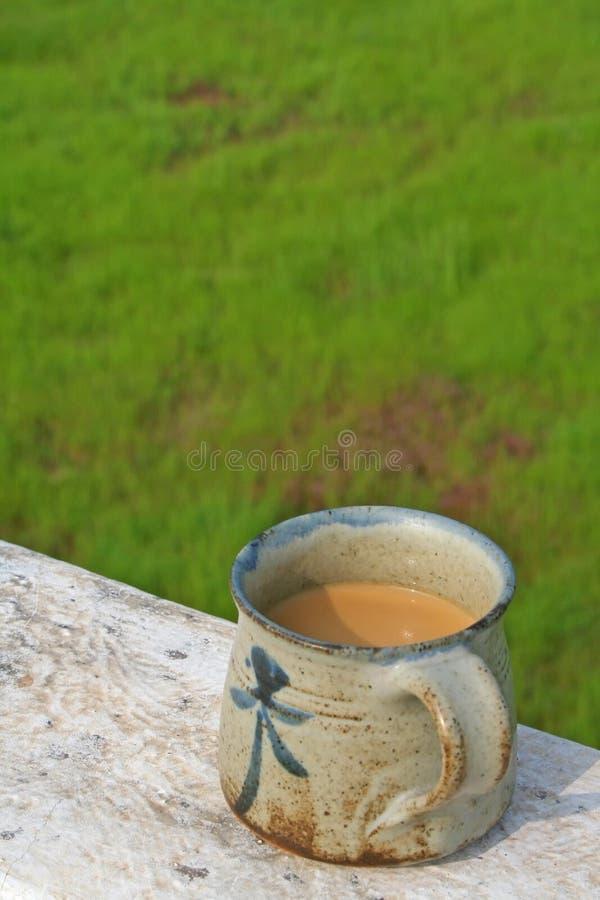 τσάι φλυτζανιών zen στοκ φωτογραφίες