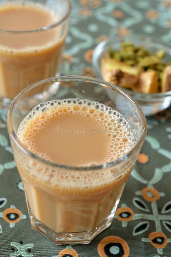 Τσάι chai Masala στοκ εικόνα